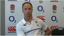 Mike Catt ahead of warm-up match vs France