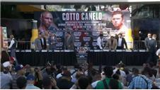 Miguel Cotto and Canelo Alvare on their big fight