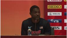 Gatlin 'happy and pleased' with performance