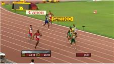 Van Niekerk becomes fourth-fastest man in history over 400m