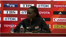 Jepkemoi unhappy Kenya team are associated with doping
