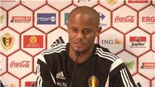 Kompany and Bazdarevic on Belgium vs Bosnia