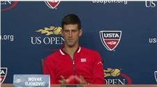 Djokovic pleased to win quickly