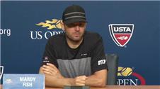 Mardy Fish reacts for retirement after US Open exit