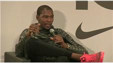 NBA star Durant on new-found love for the game