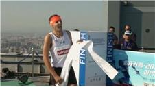 Athletes race up Beijings tallest building