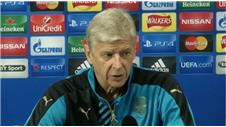 Wenger: Olympiacos have more time to prepare for Champions League