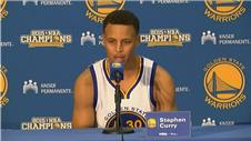 Golden State Warriors point guard Stephen Curry looks to new season
