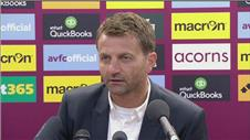 Sherwood defiant as Villas woes continue