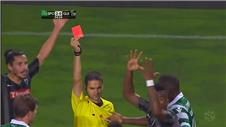 Rookie referee shows red card in 2 minutes