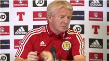 Scotland prepare for huge game against Poland