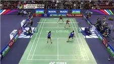 Badminton success for Indonesia and Malaysia