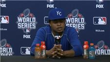 Kansas pitcher Volquez performing for late father
