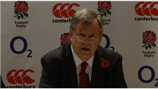 RFU sets out parameters for new England rugby coach