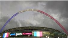 England and France meet under heavy security