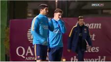 Messi returns to training with Clasico in his sights