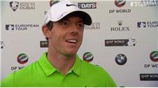 "McIlroy: ""It was a nice way to finish"""