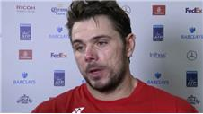 Wawrinka beats world number 2