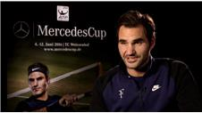 Federer very excited to participate in Mercedes Cup