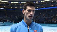 Djokovic very proud of incredible year