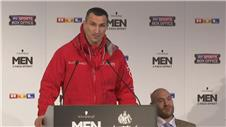 Klitschko admits to nerves before Fury fight