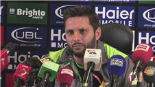 Afridi excited to face world class England in T20