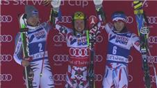 Hirscher seals record-breaking win