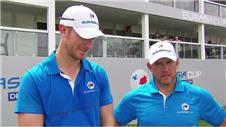Westwood and Poulter react to EurAsia Cup day one