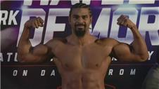 Haye at career-high weight for comeback