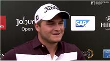 Leader Lombard aiming for Joburg win