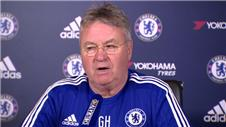 Hiddink: Terry not phased, United is a big match