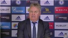 Hiddink fears no top 4 for Chelsea
