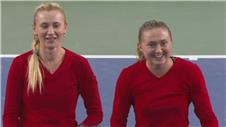 Dramatic doubles win for Belarus in Fed Cup