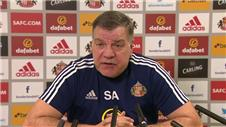 Allardyce confirms Johnsons absence