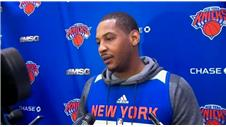 Carmelo Anthony: 'Making playoffs a challenge'