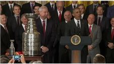 FUNNY: Obama takes credit for Hawks success
