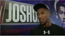 Joshua 'confident' ahead of world title fight with Martin