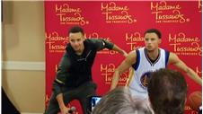 Steph Curry unveils waxwork of himself