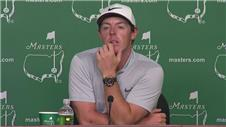 Rory McIlroy on tough Masters 2nd round