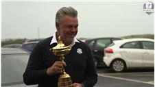 Darren Clarke launches Ryder Cup trophy tour