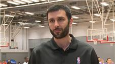 Former LA Laker Vladimir Radmanovic talks Kobe Bryants retirement