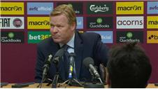 Strange atmosphere a first for Koeman