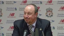 Benitez emotional at Anfield