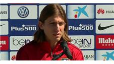 Filipe Luis ready for difficult semi with Bayern