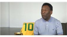 "Pele: ""Time goes quickly"""