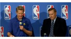 Kerr named NBA Coach of Year