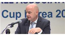 "Infantino: ""We have to be more inclusive"""
