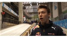 Kvyat not fazed by pressure of home race