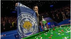 Mark Selby caps off remarkable 'Leicester day' with snooker title