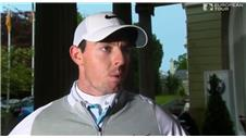 McIlroy happy with position at Irish Open